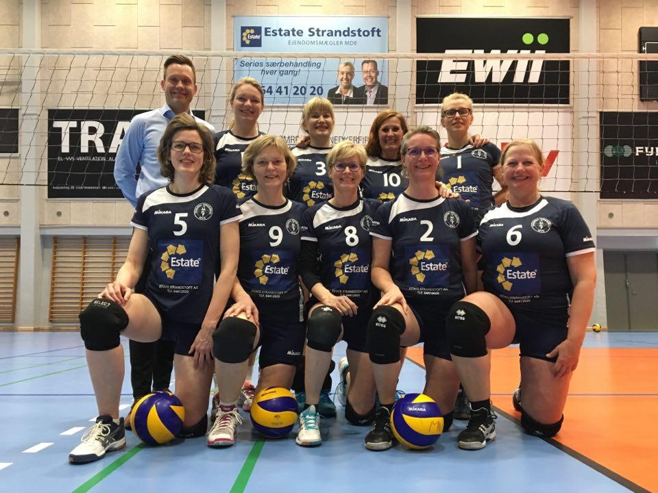 Estate trøjesponsor for Danmarksserie damerne
