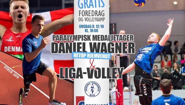 GRATIS foredrag med Daniel Wagner og elite topkamp