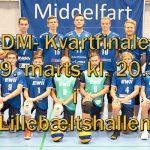 Middelfart møder Hvidovre i DM-Kvartfinalen
