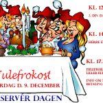 Julefrokost d. 9. december – reservér datoen