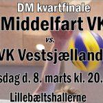 DM kvartfinale mod VK Vestsjælland d. 8. marts